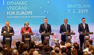 Mateusz Morawiecki wziął udział w szczycie szefów rządów państw Grupy Wyszehradzkiej  z udziałem kanclerz Angeli Merkel