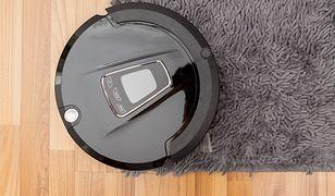 Odkurzacze automatyczne świetnie radzą sobie także z dywanami