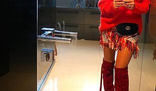 Małgorzata Rozenek uwielbia swetry marki Reserved.