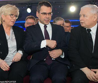 Gala Człowieka Wolności: Julia Przyłębska, Michał Karnowski, Jarosław Kaczyński