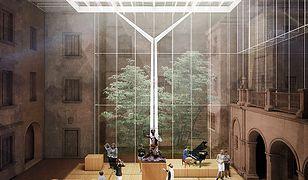 Tak będzie wyglądało lapidarium Muzeum Warszawy [Wizualizacje]
