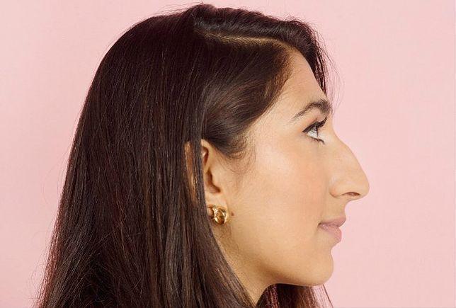 Brytyjska dziennikarka Radhika Sanghani wydatny nos zawdzięcza żydowskim korzeniom.