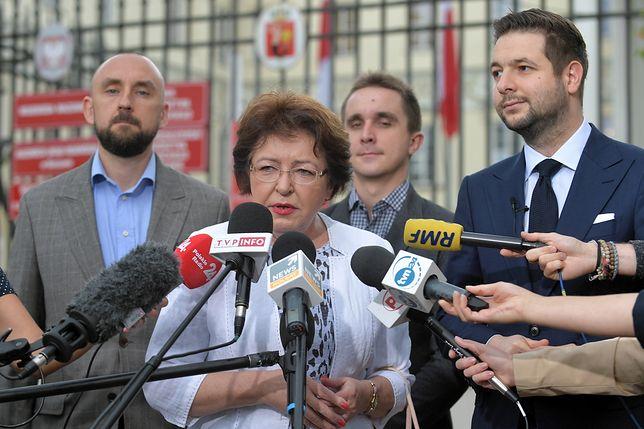 Była radna PO Jolanta Kasztelan poparła Patryka Jakiego