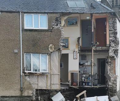 Właściciel pensjonatu przekazał, że budynek liczył ponad 200 lat i był w dobrym stanie