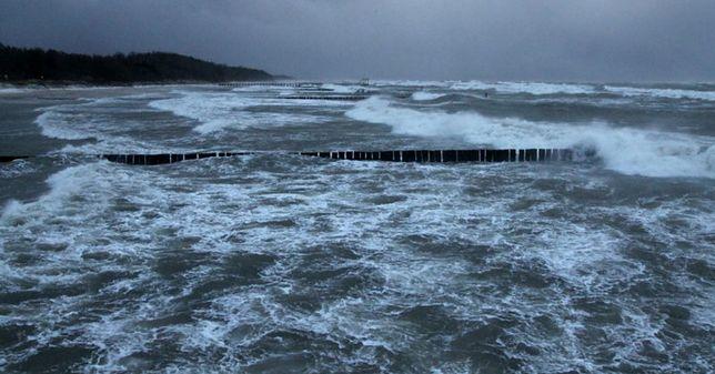 Ustronie Morskie - zniknęła bałtycka plaża