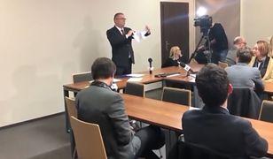 """Maciej Nawacki mówił, że wycofywanie poparcia przez sędziów to """"ich problem"""""""