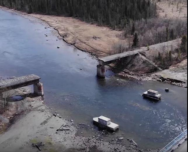 Złodzieje ukradli most kolejowy