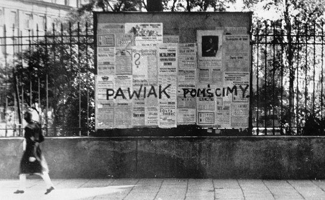 Warszawa podczas okupacji niemieckiej, data wykonania zdjęcia nieustalona
