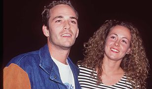 Luke Perry z byłą żoną Rachel Sharp