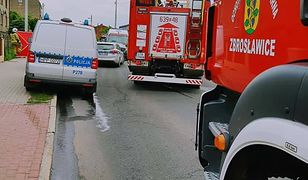 Śląsk. Tragiczny wypadek w Wieszowie. Wjechał na przeciwległy pas i zderzył się z ciężarówką