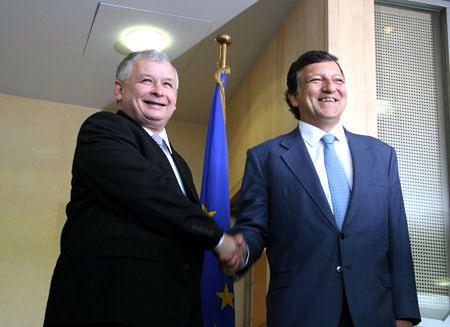 Premier Kaczyński i Jose Barroso: wyjaśniliśmy wątpliwości