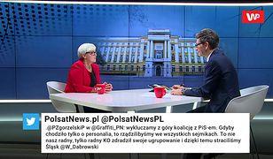 """""""Jarosław Kaczyński jest bardzo niezadowolony"""". Joanna Kluzik-Rostkowska o zmianach w rządzie"""