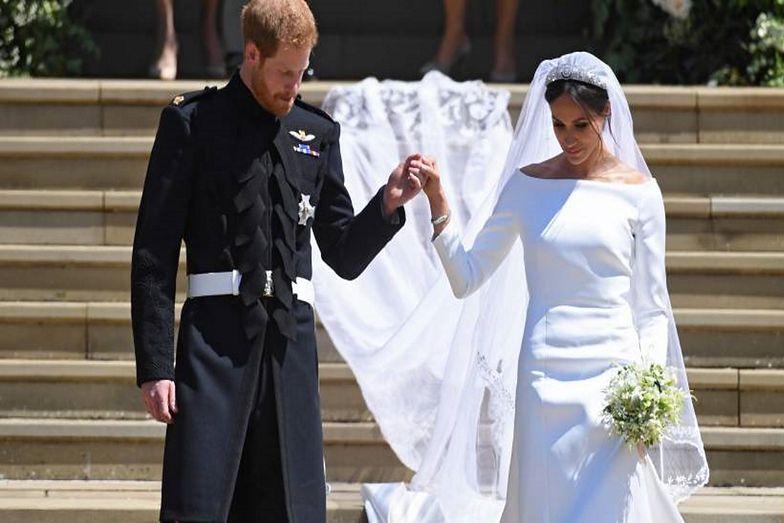 Wiedzieliście o tym? Meghan Markle oddała na ślubie hołd królowej
