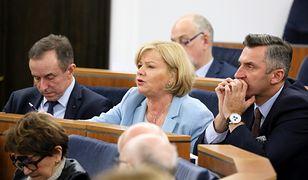 Senator PO Grażyna Sztark, inicjatorka projektu uchwały.