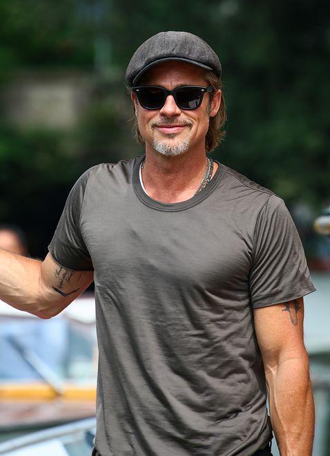 Brad Pitt ma nowy tatuaż. Media dociekają jego znaczenia
