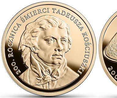 Złote monety kolekcjonerskie NBP. Najnowsza warta prawie 3 tys. zł