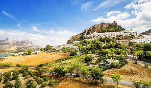 Hiszpania - niezwykłe miasteczko Zahara de la Sierra