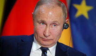 Władimir Putin (prezydent Federacji Rosyjskiej) na szczycie w Paryżu