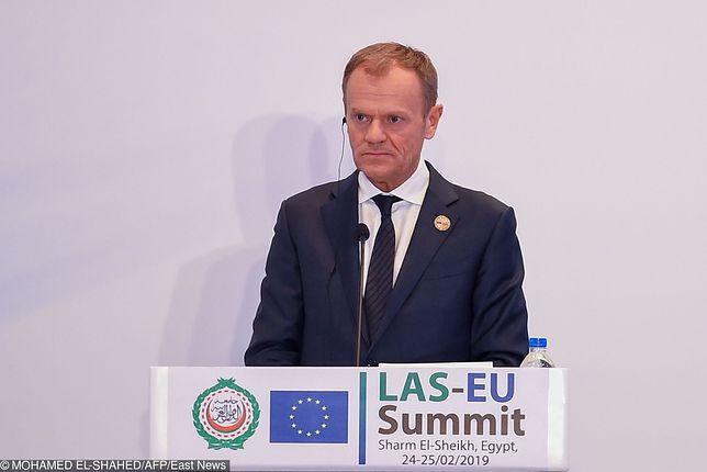 Donald Tusk: Theresa May wierzy w opóźnienie brexitu. Odłożenie daty opuszczenia UE przez Wielką Brytanię może być rozwiązaniem kryzysu