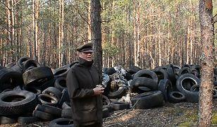 """Nadleśnictwo Lubsko. Hałda opon w lesie. """"Straszne. Ręce opadają"""""""