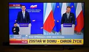Koronawirus w Polsce. Transmisja konferencji prasowej premiera Mateusza Morawieckiego i ministra zdrowia Łukasza Szumowskiego 31 marca 2020 r.
