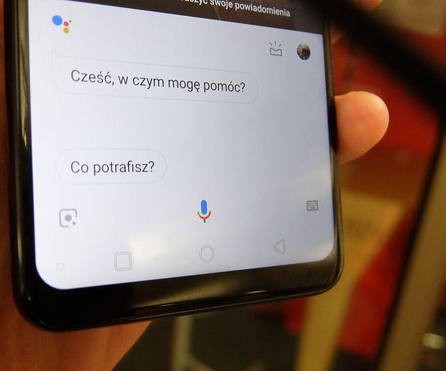 W Polsce od niedawna działa m.in. asystent Google