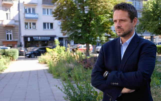 """Trzaskowski podczas poniedziałkowej konferencji o ustawie """"lex deweloper"""""""