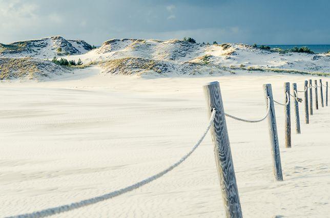 """Bałtyk to nie tylko plaża, ale również """"Polska Sahara"""""""