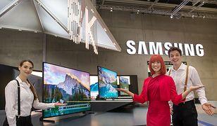 IFA 2018: Samsung pokazuje telewizor QLED 8K z technologią sztucznej inteligencji