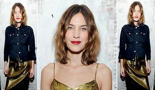 LOOK OF THE DAY: Złota Alexa Chung