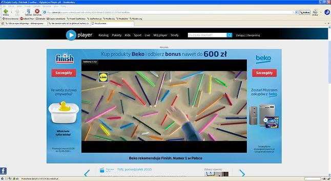 Player.pl na SeaMonkey działa i ma się dobrze