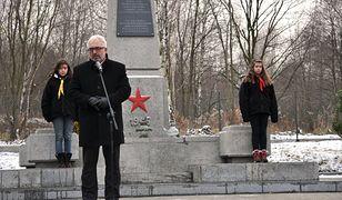 Otwarcie cmentarza Armii Czerwonej w Wałbrzychu.
