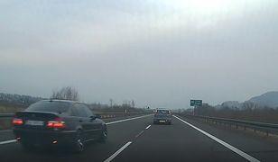 Fantazja polskich kierowców nie zna granic. Dwa groźne manewry w ciągu 20 sekund