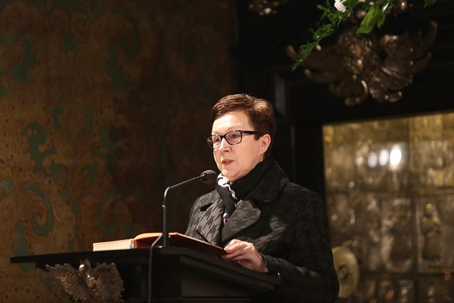 """Anna Milczanowska apeluje do rodziców osób niepełnosprawnych o zakończenie protestu, jeżeli """"mają honor"""""""