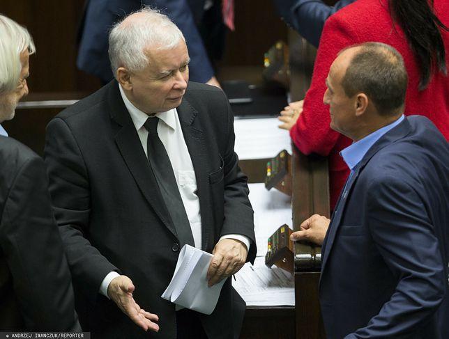 J. Kaczyński, P. Kukiz