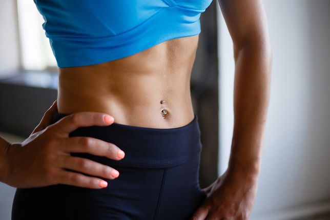 Mięśnie brzucha: mięsień poprzeczny, skośny i prosty brzucha