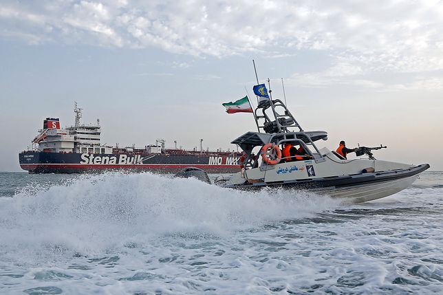 Irańczycy zatrzymali szwedzki tankowiec płynący pod brytyjską flagą
