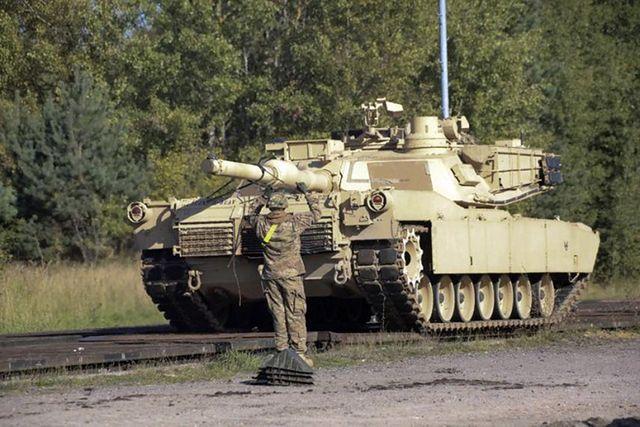 Potężne czołgi już w Polsce. Demonstracja siły USA - zdjęcia