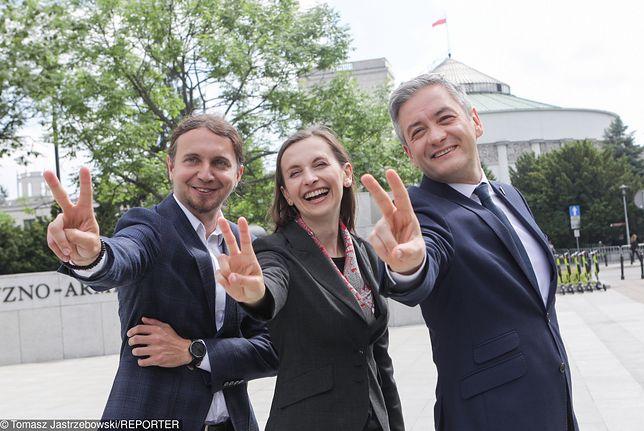 Wiosna Biedronia zdobyła w wyborach do PE 6,06 proc. głosów