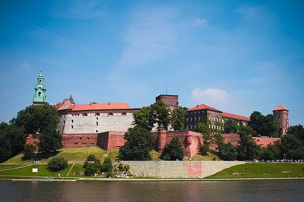 Widok na Wawel