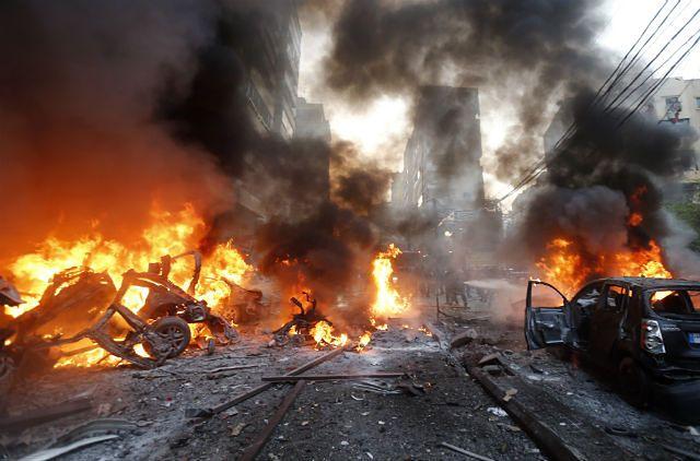 Tragiczne wydarzenia, z aut została płonąca miazga