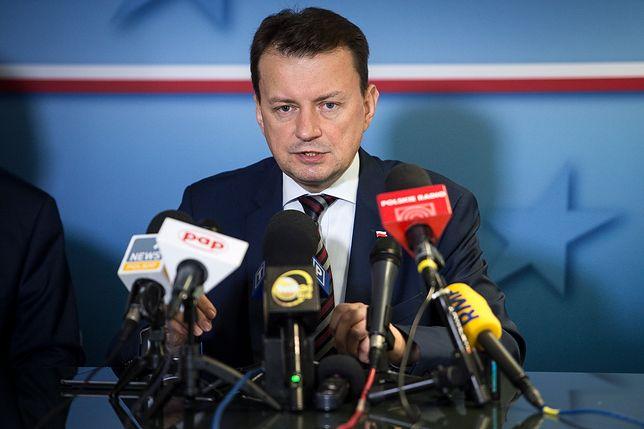 """Mariusz Błaszczak nie boi się konsekwencji. """"Polska nie zgodzi się na przyjmowanie uchodźców"""""""