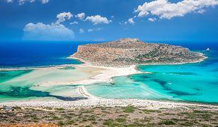 Kreta zachwyca błękitnymi lagunami i czystymi plażami aż po horyzont