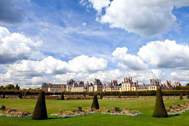 Atrakcje Francji - pałac Fontainebleau