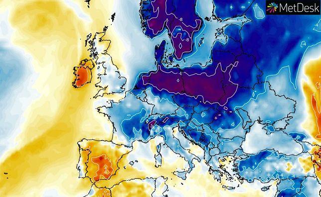 Gigantyczny powiew arktycznego zimna. To będzie pierwszy mróz tej jesieni. Śnieg w Tatrach