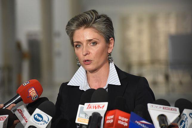 """Posłanka Joanna Mucha przygotowała założenia """"programu czterdziestolatków"""" dla opozycji"""