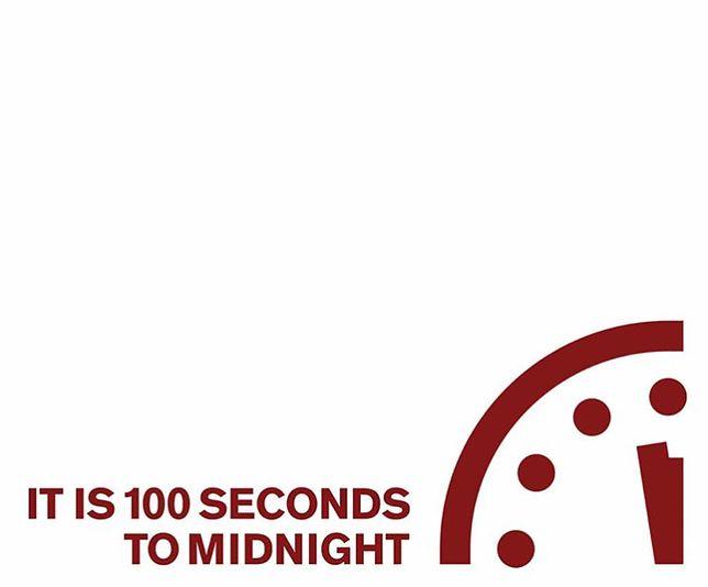 Do zagłady ludzkości pozostało nam 100 sekund