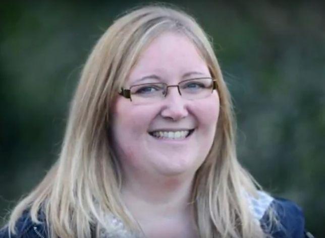 Lisa Leathard do porodu nie wiedziała, że jest w ciąży.