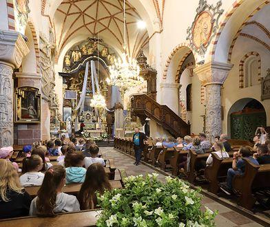 Rozpoczęcie roku szkolnego w kościele