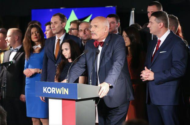 Janusz Korwin-Mikke: nasz wynik to najgorszy możliwy scenariusz